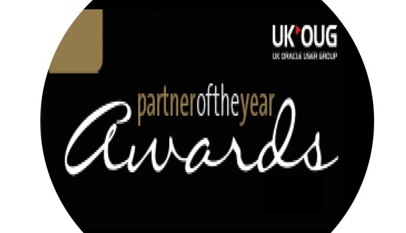 And the Winner of Digital Partner of the Year for UKOUG is ....
