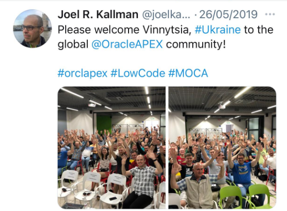 Kscope and its APEX Legacy