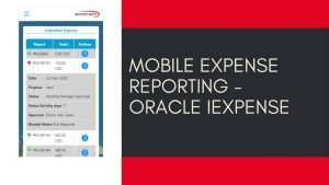 Mobile Expense Reporting - Oracle iExpense